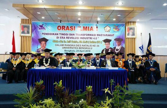 Perguruan Tinggi Memiliki peran Penting dalam Mendukung Kemajuan Daerah