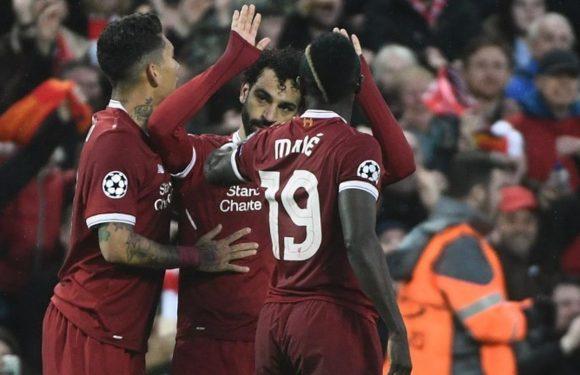 Liga Champions, Liverpool Menang 5-2 atas AS Roma