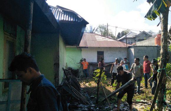 Kantor Kehutanan Ujan Mas, Nyaris Terbakar