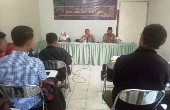 Kepahiang & RL Dapat Bantuan Mesin Pemecah Biji Kopi Dari Provinsi