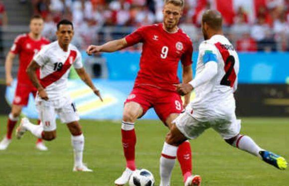 Denmark Redam Peru 1 : 0