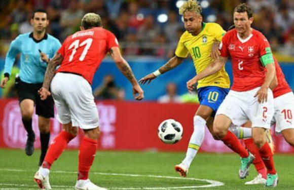 Brasil Ditahan Swiss 1 : 1