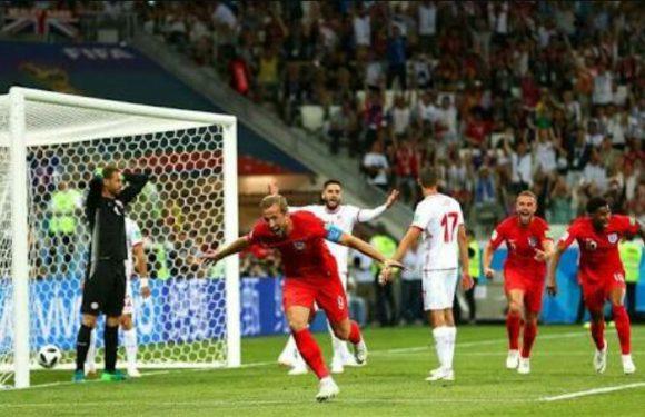 Tunisia Vs Inggris 1 : 2