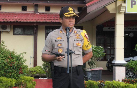 Amankan Pilkades Serentak, Polres Kepahiang Kerahkan 216 Personil