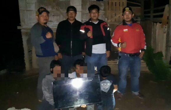 Tiga Pemuda Tebat Monok Ditangkap Timsus