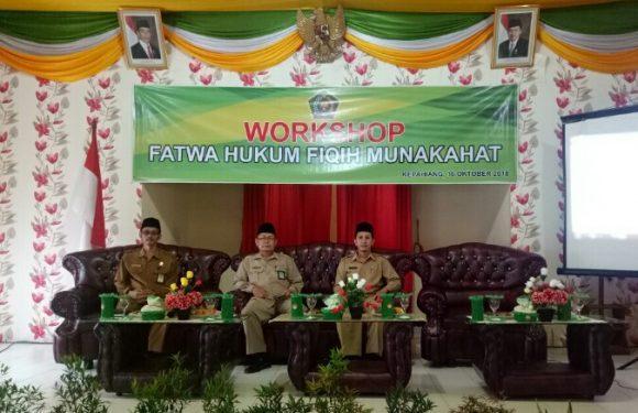 Kemenag Kepahiang Gelar Workshop Fatwa Hukum Fiqih Munakahat