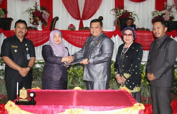 APBD-P Kepahiang 2019 Disahkan Dipenghujung Masa Jabatan DPRD