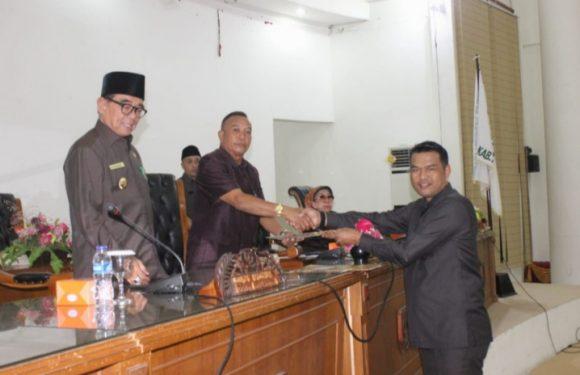 5 Fraksi DPRD Kepahiang Setujui Pembahasan Raperda APBD-P TA 2019