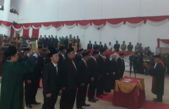 Sah, 25 Anggota DPRD Kepahiang Baru Dilantik