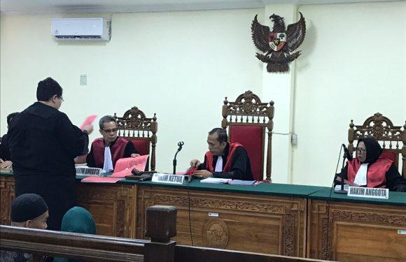 JPU Kejari Kepahiang Tuntut Terdakwa OTT 6 Tahun Penjara