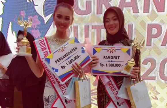 Siswi Tata Busana SMKN 4 Kepahiang Dinobatkan Sebagai Putri Persahabatan Bengkulu 2019