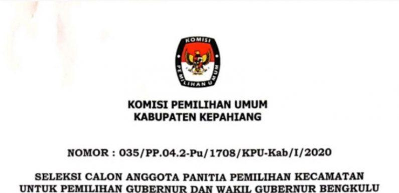 Ini Syarat Seleksi Anggota Ppk Kabupaten Kepahiang Semarak Post