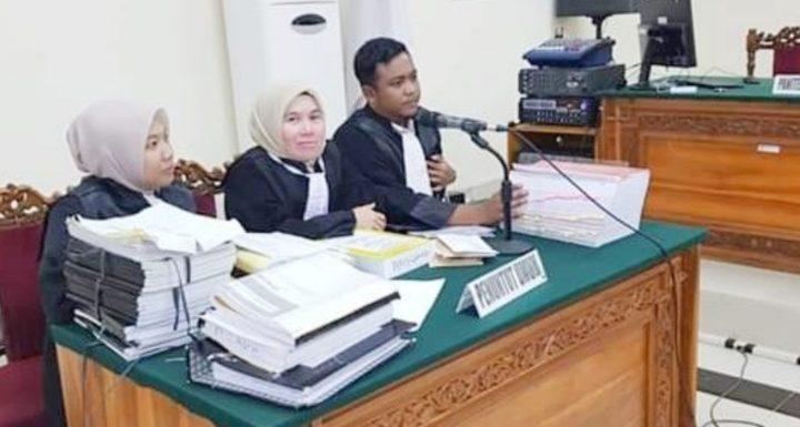 Konsultan dan KPA Rehabilitasi Jalan Batas Kota Kepahiang – Simpang Kantor Bupati Hadiri Sidang