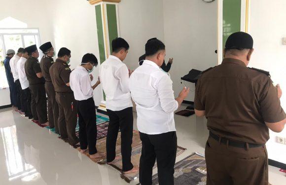Wakil Jaksa Agung RI Tutup Usia, Kejari Kepahiang Sholat Ghaib dan Doa Bersama
