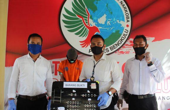 Polres Bengkulu Ciduk Pelajar SMP Jual 43 Paket Sabu