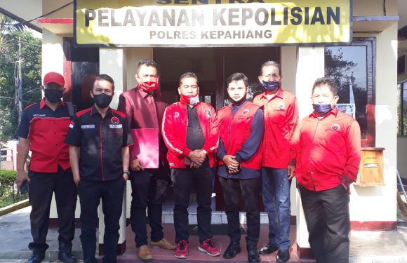 DPC PDI-P Kabupaten Kepahiang Dukung Polri Usut Aksi Pembakaran Bendera
