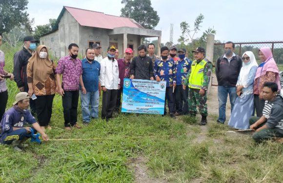Kegiatan Titik Nol Desa Cugung Lalang Tahun Anggaran 2020