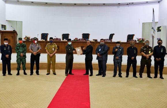 Fraksi DPRD Kepahiang Setuju Bahas Raperda Pertanggungjawaban Pelaksanaan APBD 2019