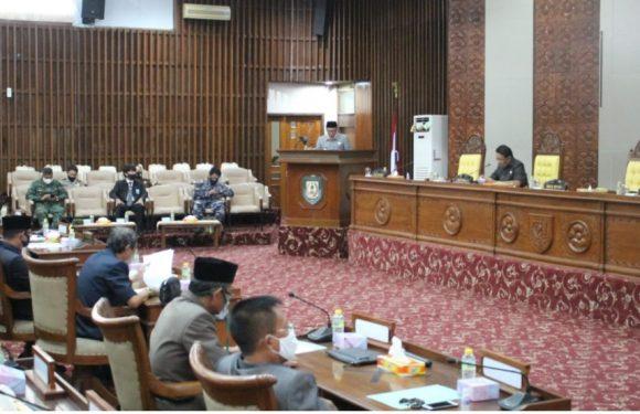 DRPD Provinsi Bengkulu Gelar Paripurna Nota Penjelasan Gubernur atas Raperda Pertanggungjawaban Pelaksanaan APBD 2019