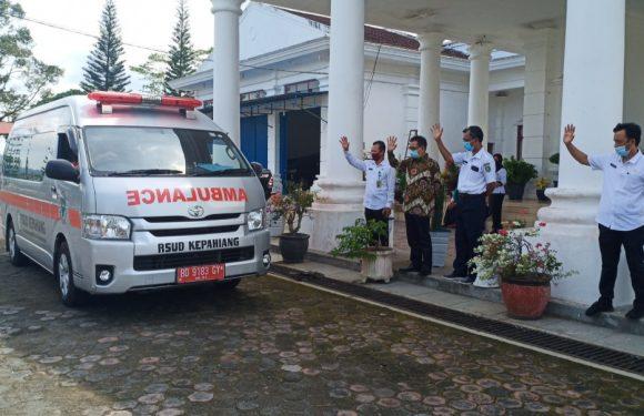 Pemkab Kepahiang Kirim Ambulance Jemput Jenazah Warganya ke Jambi