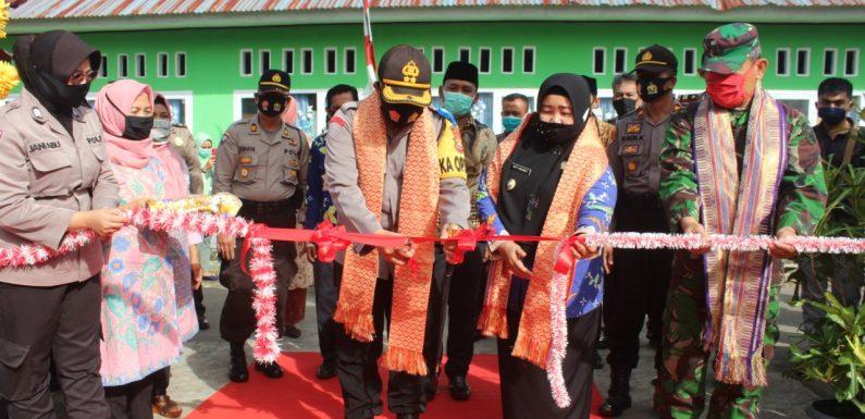Kapolres Launching 3 Kampung Tangguh di Kepahiang