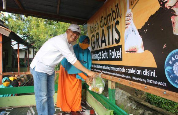 Tanam Rasa Peduli Sesama, Gubernur Rohidin 'Nyantel' Lagi di Sukamerindu