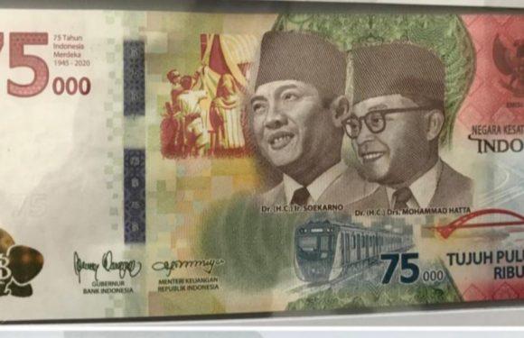 Pemerintah Luncurkan Uang Pecahan Baru Rp 75.000
