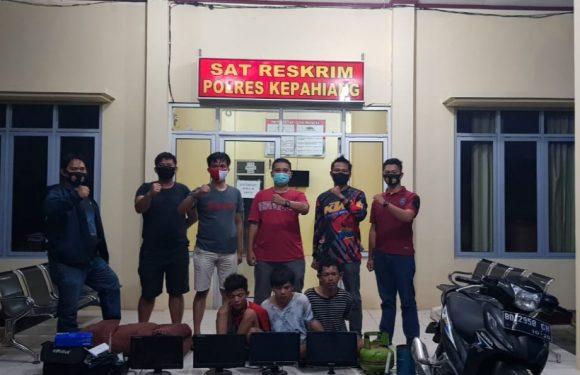 Reskrim Polres Kepahiang Ungkap Pencurian 12 Unit Komputer