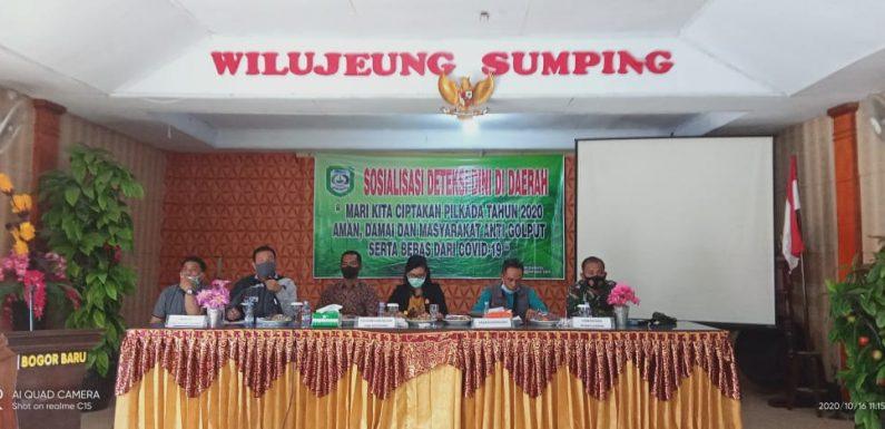 Jaga Kondusifitas Pilkada, Kesbangpol  Lakukan Sosialisasi Deteksi Dini di Daerah