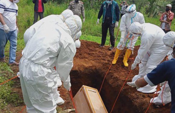 Berlangsung Aman, Tak Ada Penolakan Warga Pada Proses Pemakaman Jenazah Covid-19